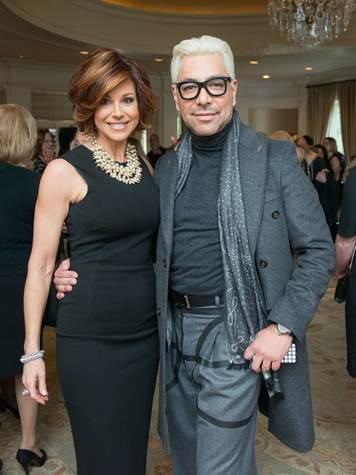 4 Dominique Sachse and Ceron at the Passion for Fashion luncheon March 2015