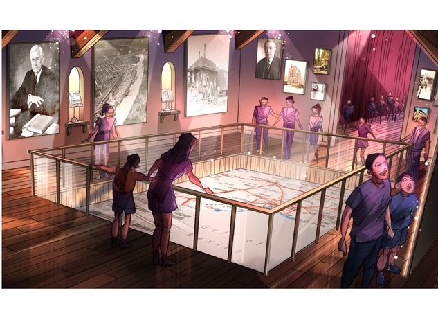 BRC Imagination Arts, Nau Center for Texas Heritage