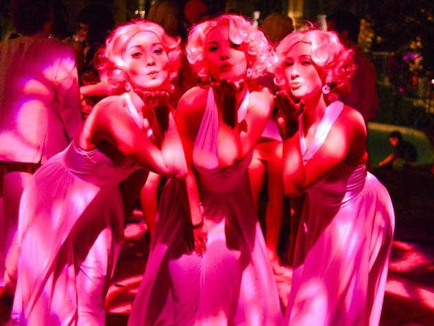 Pink Marilyns at Party in Pink at Hotel ZaZa July 2013