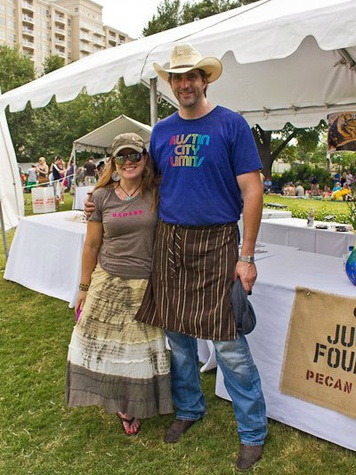 Diane and Justin Fourton at Chefs for Farmers