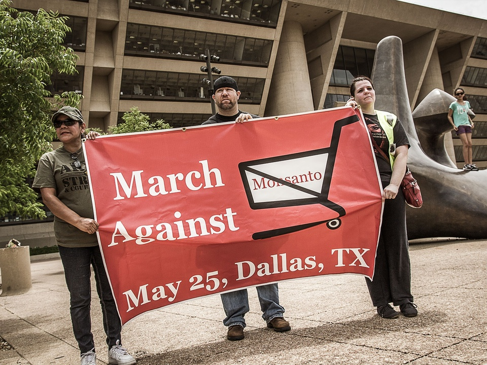 March Against Monsanto rally in Dallas