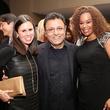 264 Missy Bellinger, from left, Elie Tahari and Deborah Duncan at Catwalk for a Cure November 2013