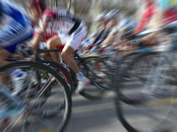 bicycle race, bike, blur