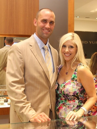 Matt Schaub David Yurman party, June 2012, Matt Schaub, Laurie Schaub