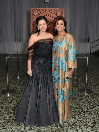 1, Islamic World gala, January 2013, Zeina Fares, Lorena Karpen