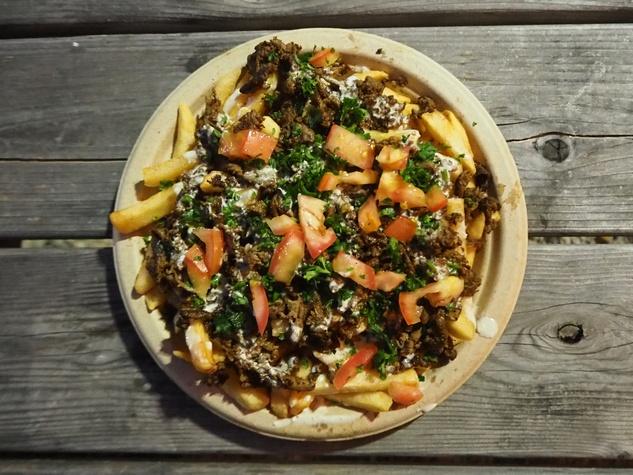 Beirut shawarma fries