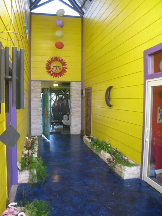 Austin Weird Home Tour_Under the Sea_hallway_Spring 2015
