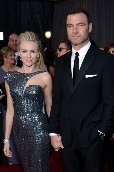 Naomi Watts, Liev Schreiber, Academy Awards, February 2013