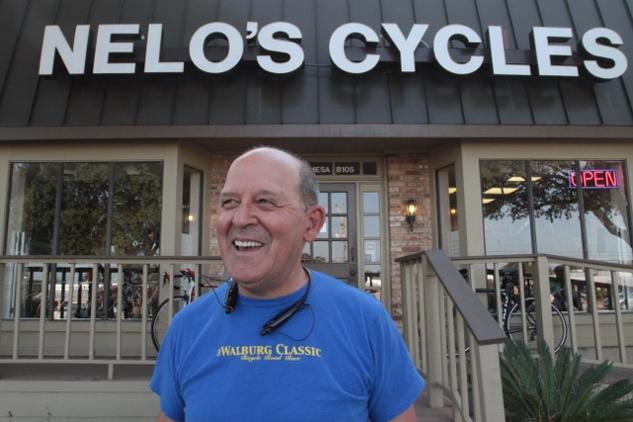 Owner Nelo Breda of Nelo's Cycles