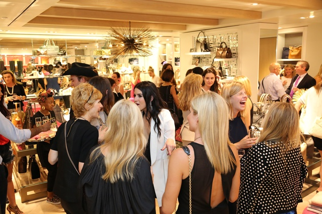 Party Atmosphere  at Elaine Turner New York Fashion Week launch party September 2014