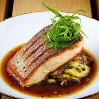 Cedar Grove salmon