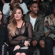 Kendall Jenner, Khloe Kardashian, Big Sean and Pusha T attend the adidas Originals x Kanye West YEEZY SEASON 1 fashion show