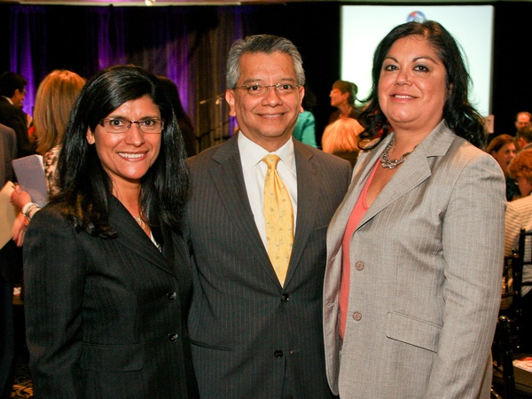 News_El Centro del Corazon luncheon_April 2012_Lupe Mireles_David Ruiz_Patty Abshire