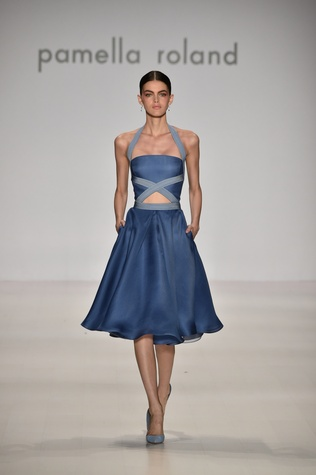 Pamella Roland spring 2015 collection Look 17