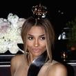 Ciara with Moet crown October 2013