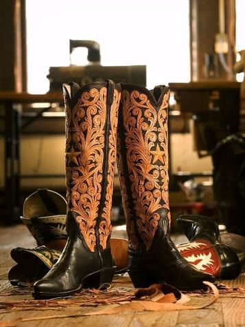 M.L. Leddy's custom boots