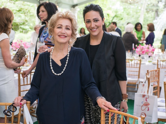 Bayou Bend luncheon, April 2016, Mary Kickerillo, Kelli Kickerillo Forester