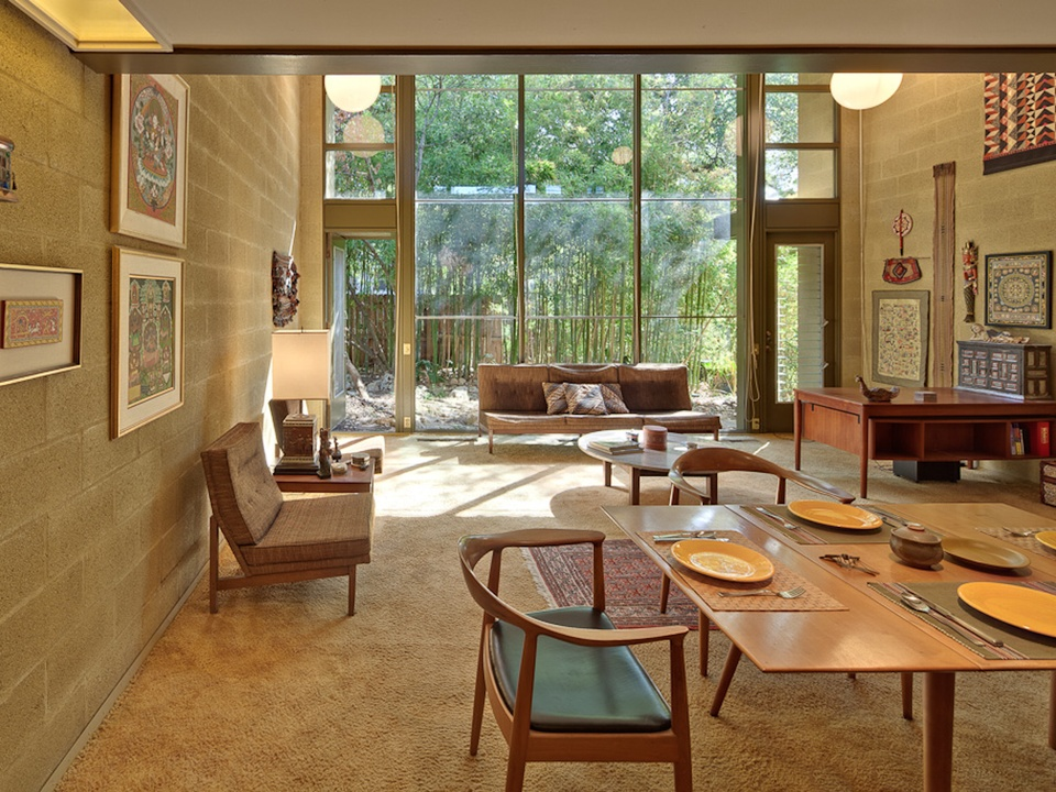 Austin Modern Home Tour 2014 1911 Cliff Street Unit 3 interior