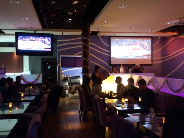 sports bars, Cafe 101, 02, January 2013