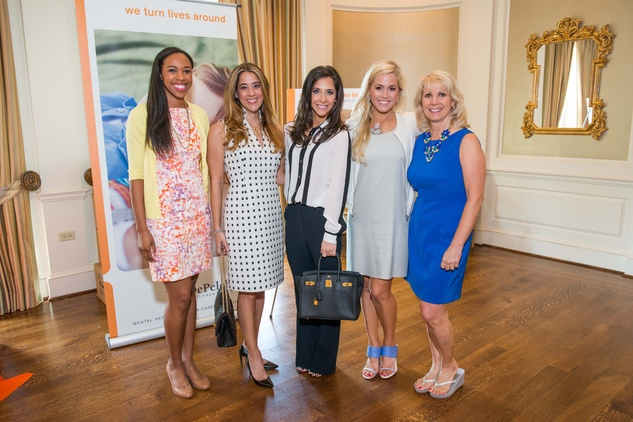 Houston, News, Shelby, Depelchin Children's Center Luncheon, May 2015, Marisa Knowles, Kristina Somerville, Hannah McNair, Ericka Graham, Deborah Engen