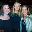 6763 Laura Stein, from left, Debbie Chenevert and Meredith Turner at the Cattle Baron Gentlemen's Committee party February 2015