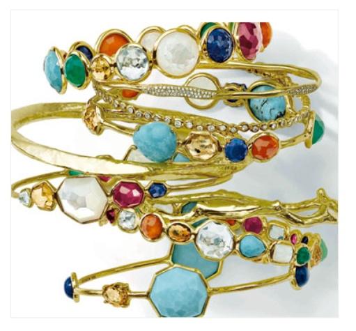 ippolita gold mixed gems