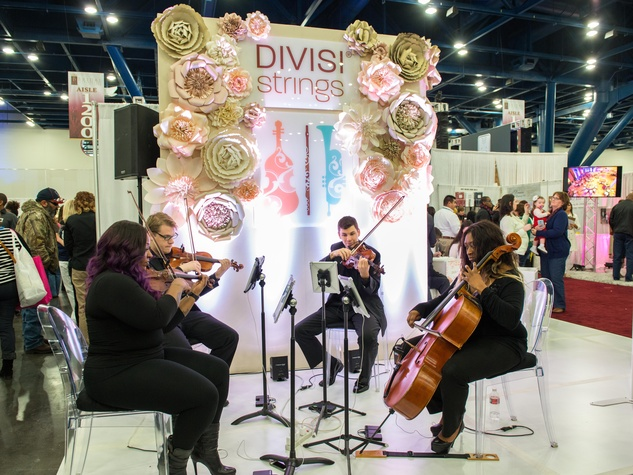 20 Divisi Strings at the Paper Flower Artistry January 2015