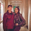 33 Mark Monroe and Adriana Banks at the Pam & Gela party November 2014