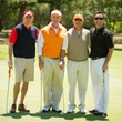 6 Jason Ellis, from left, Rob Schanen, Jimmy Burke and Sean Waggoner at the Children's Museum Spring Golf Classic April 2014