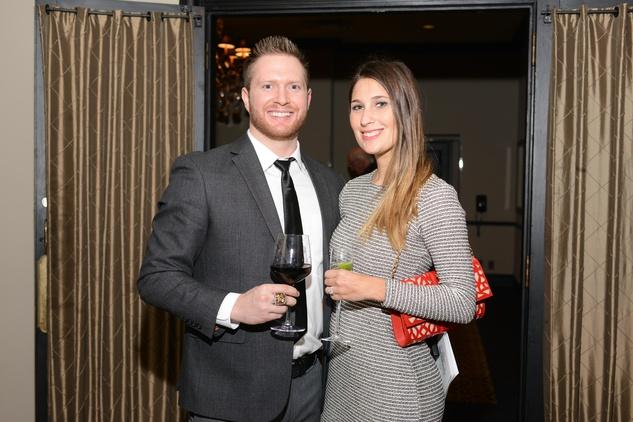 10 Nick Miller and Carolyn Roberts at the Krist Samaritan Gala November 2014