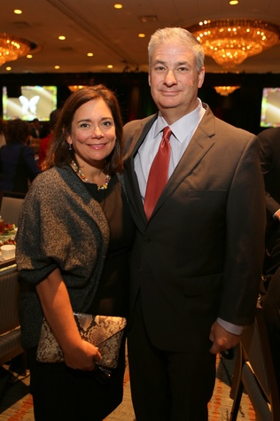 11 Carmen and Butch Mach at the Guardian of the Human Spirit luncheon November 2014