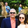 24 Sid and Phyllis Bresler at Cheetah Conservation and The Houston Zoo Event March 2015