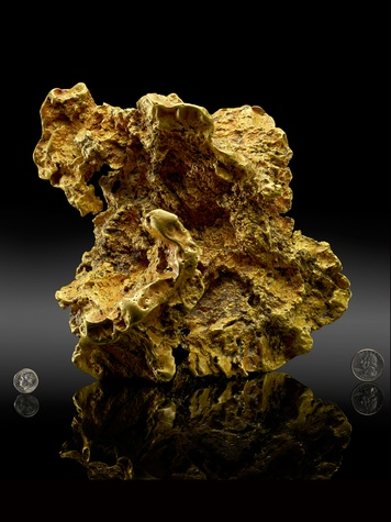 News_Houston Museum of Natural Science_Ausrox Gold Nugget
