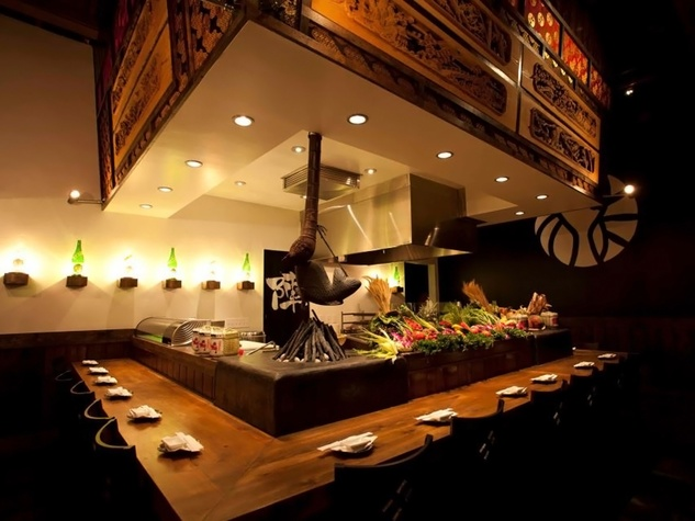 Jinya Ramen Bar NYC interior