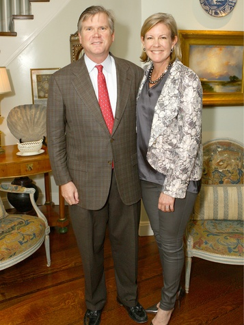 Lee and Ann Hobson, United Way Host Kickoff