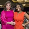 16 Cynthia Cisneros, left, and Sharron Melton at the Latin Womens Initiative May 2014