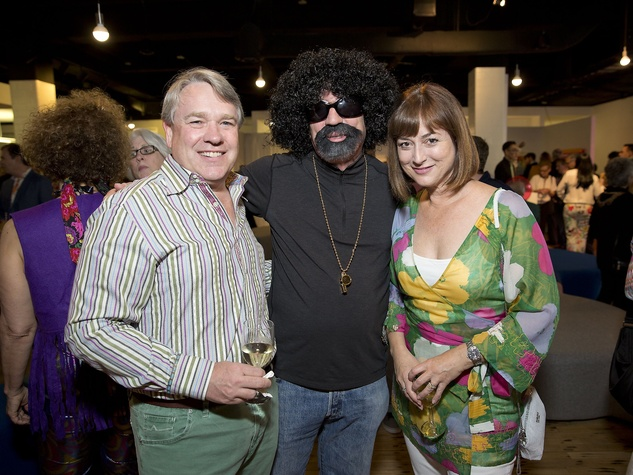 Glassell Benefit and Auction 2015 Reggie Smith; Hiram Butler; Leigh Smith