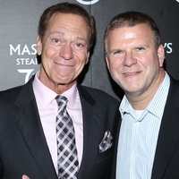 7 Mark Levy, from left, Joe Piscopo and Tilman Fertitta at the opening of Mastro's Steakhouse in NYC November 2014