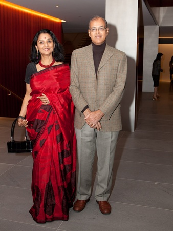 News_Asia Society preview party_January 2012_Sudha Mani_Ravi Mani