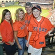 0004, Astros Opening Day Owner's Box, April 2013, Susan Plank, Michael Plank, family