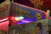 Austin photo: Places_Weird_Hippie Church_Sign