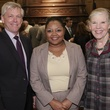 Jim Moroney, Sherrelle Evans and Mary Jalonick, Good Works Under 40