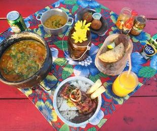 Boteco food spread