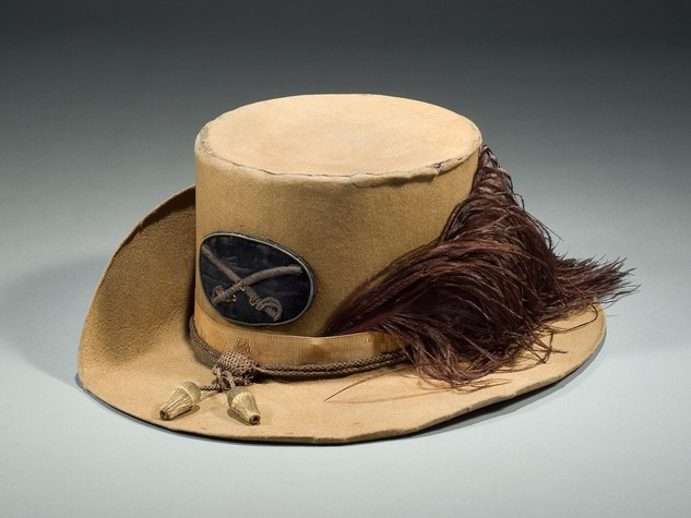 News_HMNS_Civil War_Virginia Cavalry Officers Hardee Hat