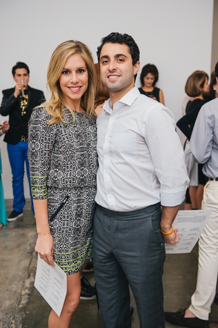 12 Lauren Dupuis and Alex Taghi at the Amir Taghi launch May 2014