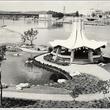 Austin_photo: places_outdoors_women in construciton pavilion_park