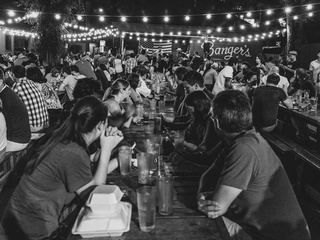 Banger's_Rainey Street_outdoor patio_2014