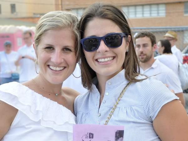 002_White Linen Night, August 2012, Anne Saner, Jenny Saner