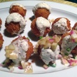 Weather Up whitefish fritters at Dames Across Texas event