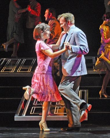 Houston Grand Opera It's A Wonderful Life, William Burden, Andrea Carroll